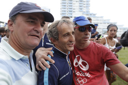 Alan Prost, Renault e.Dams with fans