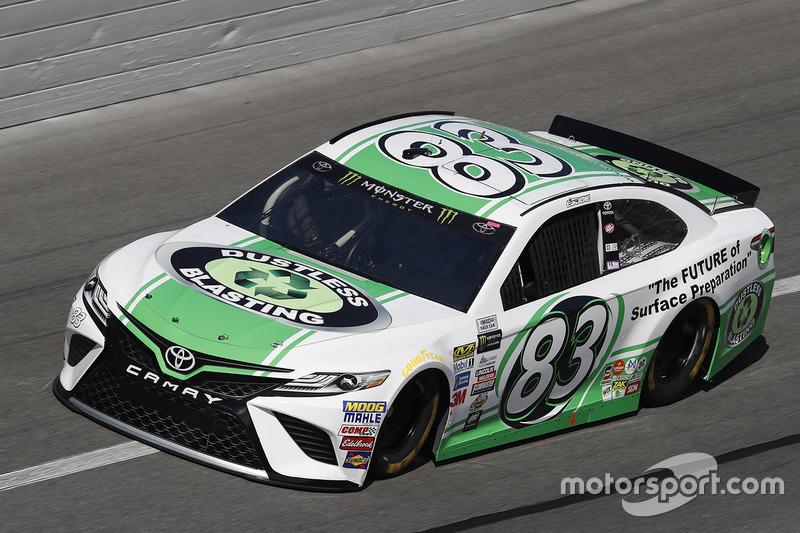 31. Corey LaJoie, BK Racing, Toyota