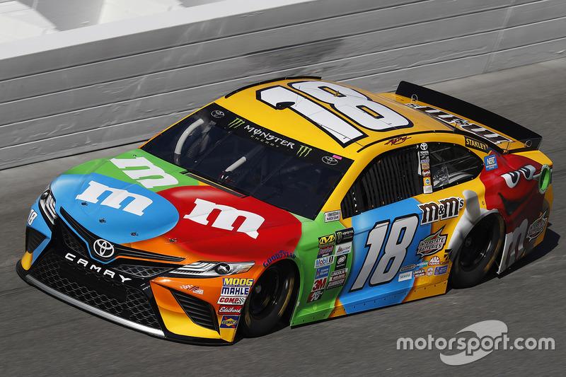 21. Kyle Busch, Joe Gibbs Racing, Toyota