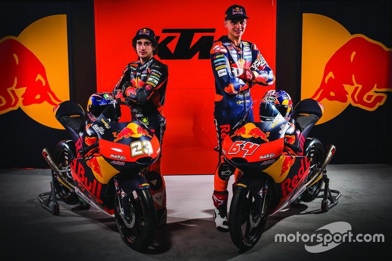 Niccolo Antonelli, Red Bull KTM Ajo en Bo Bendsneyder, Red Bull KTM Ajo