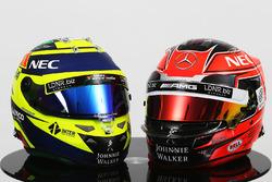 Cascos de pilotos F1 2017