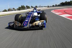 Sauber F1 C36 filming day