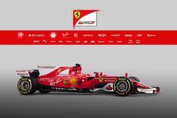 Présentation de la Ferrari SF70H