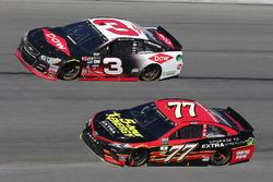 Erik Jones, Furniture Row Racing Toyota en Austin Dillon, Richard Childress Racing Chevrolet