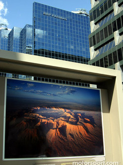 Photo exposition on McGill College Street
