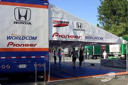 Mo Nunn Racing hospitality