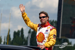Drivers' parade: Jimmy Vasser