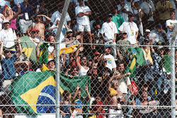 Brazilians were in force