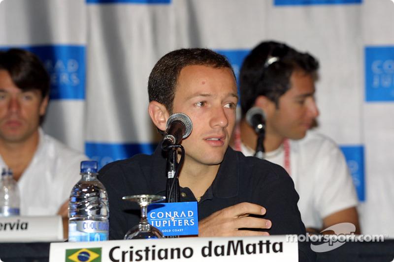 Conférence de presse : Cristiano da Matta