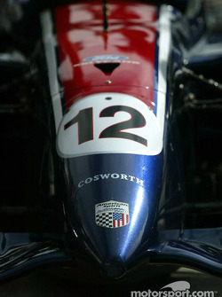 Nose cone of Jimmy Vasser's car