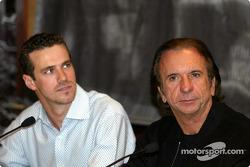 German 500 Pressekonferenz: Tiago Monteiro und Emerson Fittipaldi
