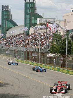 Pace lap: Michel Jourdain Jr.