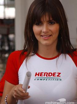 A charming Herdez girl