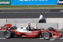 Jimmy Vasser on pitlane
