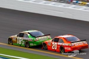 Kyle Busch, Joe Gibbs Racing Toyota, Joey Logano, Joe Gibbs Racing Toyota