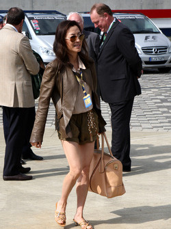 Michelle Yeoh, ex. James Bond girl, actor, Girlfriend of Jean Todt