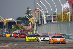 #77 Ferrari of Silicon Valley Ferrari 458 Challenge: Harry Cheung leads the field