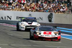 #38 All-Inkl.com Munnich Motorsport Lamborghini Murcielago 670 R-SV: Marc Basseng, Markus Winkelhock