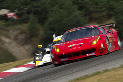 Jaime Melo and Toni Vilander, Ferrari F458 Italia