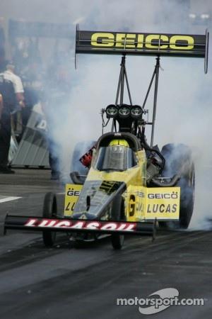Morgan Lucas, GEICO Powersports/Lucas Oil Dragster