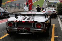 #41 Marc VDS Racing Team Ford GT: Jonathan Hirschi, Markus Palttala, Antoine Leclerc