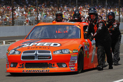 Robby Gordon, Robby Gordon Motorsport Dodge gets pushed down pit road