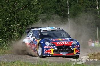 Citroën DS3 WRC, Citroën Total World Rally Team, last year in Finland