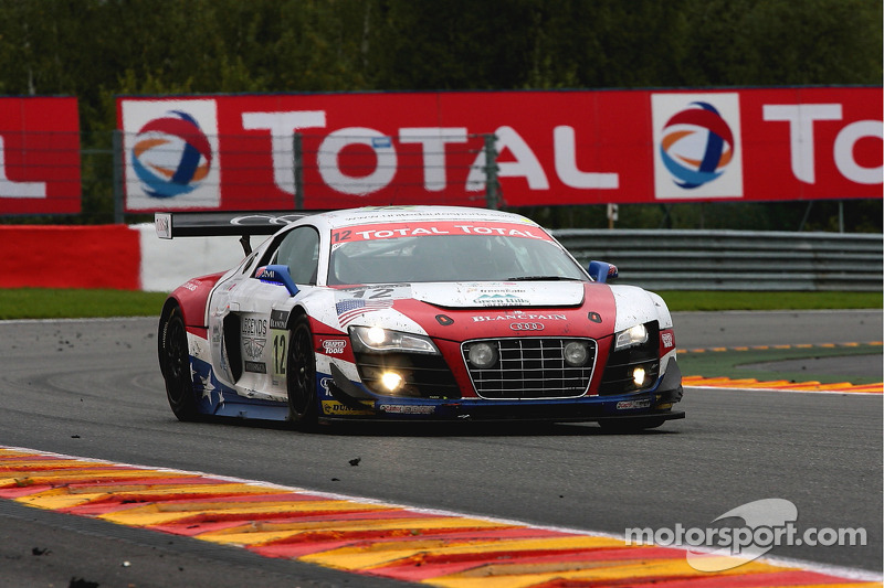 #12 United Autosports Audi R8 LMS: Arie Luyendyk, Alan Li, Richard Meins, Henri Richard