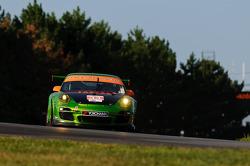 #34 Green Hornet/Black Swan Racing Porsche 911 GT3 Cup: Peter LeSaffre, Andrew Davis