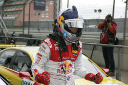Pole winner Mattias Ekström, Audi Sport Team Abt