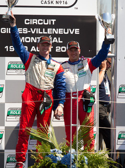 GT podium: class winners Robin Liddell and Ronnie Bremer