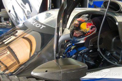 Team Peugeot augustus test