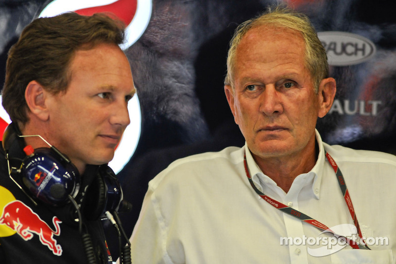 Christian Horner, Red Bull Racing, Sporting Director and Helmut Marko