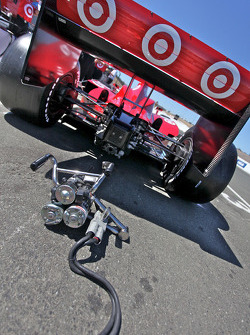 Car of Dario Franchitti, Target Chip Ganassi Racing