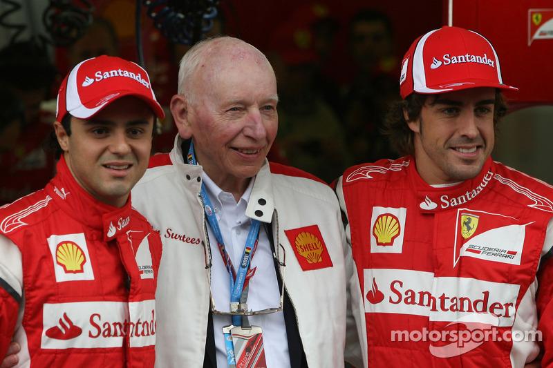 Felipe Massa, Scuderia Ferrari, John Surtees y Fernando Alonso, Scuderia Ferrari