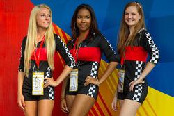 Podium: the lovely podium girls