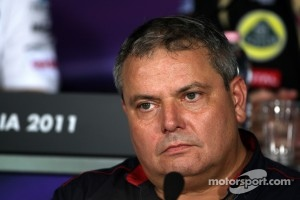 Gorgio Ascanelli Technical Director, Scuderia Toro Rosso