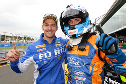 Pole winners Luke Youlden and Will Davison