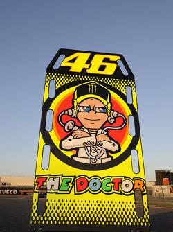 Табличка для Валентино Росси, Ducati Team