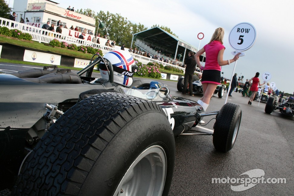 Glover Trophy: Mike Luck, Brm P261