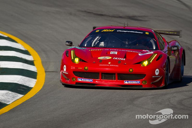 #062 Risi Competizione Ferrari F458 Italia: Jaime Melo, Toni Vilander, Raphael Matos