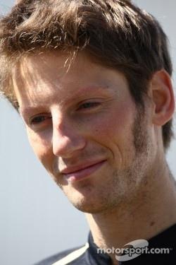 Romain Grosjean, Lotus Renault GP