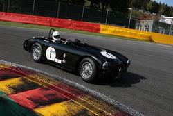 #1 Aston Martin DB3: Martin Melling, Rick Hall