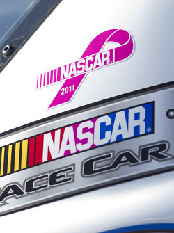 NASCAR supports breast cancer awareness