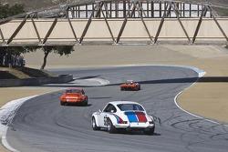 Porsche GT race action