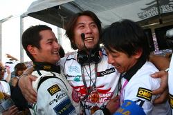 GT300 winner Taku Bamba