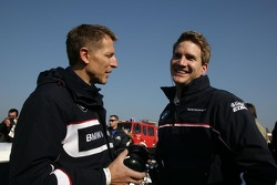 Presentation BMW M3 DTM with Dirk Werner