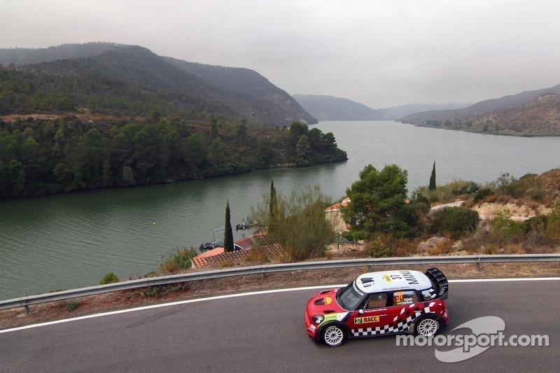 Dani Sordo and Carlos del Barrio, Mini John Cooper Works, MINI WRC TEAM
