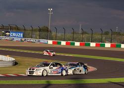 Franz Engstler, BMW 320 TC,  Liqui Moly Team Engstler and Mehdi Bennani, BMW 320 TC, Proteam Racing