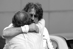 Marco Simoncelli's father reacts to the news of his son's passing